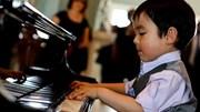 Thần đồng gốc Việt 5 tuổi đoạt cúp piano quận Cam - Mỹ