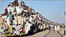 Kinh hoàng chuyện đi tàu ở các quốc gia đông dân nhất thế giới