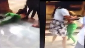 Cô gái bị lột đồ đánh ghen, lôi xềnh xệch ngay tại bệnh viện