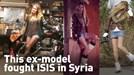 Bỏ sàn catwalk, cựu người mẫu Canada cầm súng ra chiến trường chống IS
