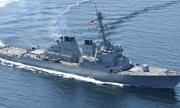 Ba tàu tên lửa hiện đại nhất của Mỹ có mặt ở Biển Đông