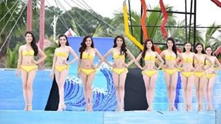 Top 36 thí sinh Hoa hậu Việt Nam nóng bỏng với bikini