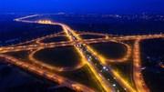 Những giao lộ ở Hà Nội hiện lên kỳ thú trong đêm