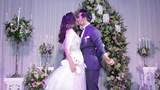 Ngọc Lan - Thanh Bình hôn nhau đắm đuối trong tiệc đính hôn