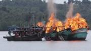 Kỷ niệm Quốc khánh, Indonesia sẽ bắn nổ tung 3 tàu cá Trung Quốc