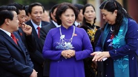 Nữ Chủ tịch Quốc hội tiết lộ về thói quen mặc áo dài