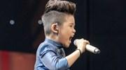 Bé 9 tuổi khiến dàn HLV The Voice Kids 'nổi da gà'