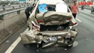 3 ô tô đâm liên hoàn chỉ vì...chiếc mũ bảo hiểm