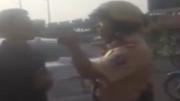 CSGT đánh người vi phạm trên đường phố Sài Gòn