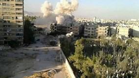 Quân đội Syria kích nổ tòa nhà, diệt đội bắn tỉa khủng bố ở Damascus
