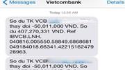 Khách hàng Vietcombank mất 500 triệu đồng: Liên quan đến đối tượng cả trong và ngoài nước