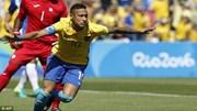 Neymar đi vào lịch sử Olympic với bàn thắng ở giây thứ 14