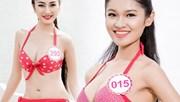 Bỏng mắt ngắm thí sinh Hoa hậu VN trong clip áo tắm