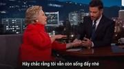 Bất ngờ với cách bà Hillary Clinton đập tan tin đồn bạo bệnh