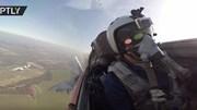 Mãn nhãn màn nhào lộn phóng tên lửa của chiến đấu cơ Nga