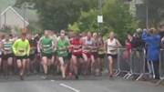 Hơn 1.000 người tham gia chạy đua với tàu hỏa