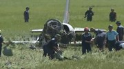 Cận cảnh hiện trường máy bay huấn luyện L39 rơi tại Phú Yên