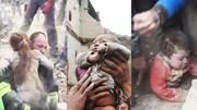 Nghẹt thở trước những pha giải cứu trẻ em trong động đất