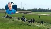 Vụ rơi máy bay Phú Yên: Phi công từ chối nhảy dù để cố cứu máy bay