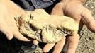 Australia: tưởng nhặt phải rác, hóa lại được cục vàng 4kg