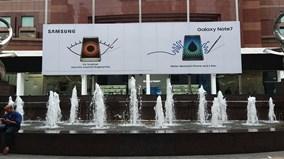 Samsung khoe toàn bộ phụ kiện Galaxy Note 7 ở Singapore