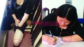 Người đàn bà thuê chặt chân tay xin lỗi trong nước mắt