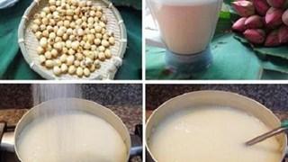 Trị chứng mất ngủ, tăng cân vùn vụt với sữa hạt sen lá dứa