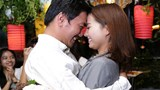 Diễn viên Khánh Hiền nghẹn ngào khi được bạn trai Việt kiều cầu hôn