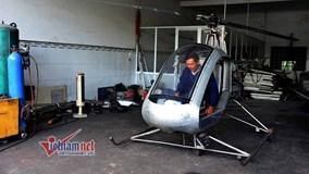 Tâm sự rút ruột của người tự chế trực thăng xôn xao dư luận