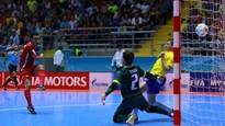 Tuyển futsal Iran gây địa chấn, quật ngã Brazil