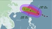 Bão Megi gây gió mạnh, sóng lớn ở bắc biển Đông