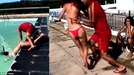 Thanh niên phạm sai lầm vì trò đùa với cô gái bikini