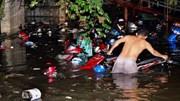 Người dân thiệt hại vì hàng loạt hầm để xe ngập nước
