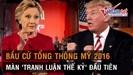Toàn cảnh cuộc 'tranh luận thế kỷ' đầu tiên giữa Donald Trump và Hillary Clinton