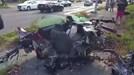 Tai nạn kinh hoàng ở vận tốc 145km/h, ôtô vỡ tung, tài xế không hề hấn gì