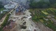 Siêu bão Megi gây lở đất ở Trung Quốc, 33 người mất tích