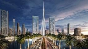 Tòa nhà cao nhất thế giới đã bắt đầu được xây dựng ở Dubai