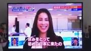 """Phạm Hương """"bắn"""" tiếng Anh như gió trên truyền hình Nhật Bản"""