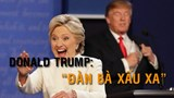 Vòng đối đầu thứ 3 của 2 ứng viên Tổng thống Mỹ: Hài hước và gay cấn
