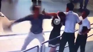 Xem xét cấm bay 2 hành khách đánh nữ nhân viên hàng không