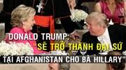 2 ứng viên Tổng thống Mỹ: Dự tiệc vẫn không quên mỉa mai nhau