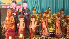 Đã bắt nhóm gây ra loạt vụ trộm cắp đồ thờ tại Thái Bình