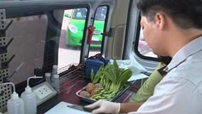 Bên trong xe chuyên dụng kiểm tra an toàn thực phẩm có gì đặc biệt?