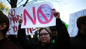 Biểu tình quy mô lớn chưa từng có tại New York phản đối ông Donald Trump