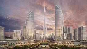 Cận cảnh tòa tháp sắp soán ngôi tháp cao nhất thế giới ở Dubai