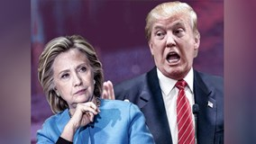 """""""Ngài Donald Trumps và bà Hillary Clinton"""" phiên bản make up"""