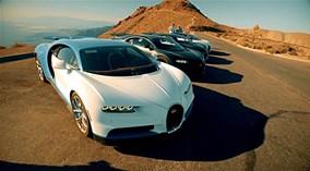 """Siêu xe Bugatti Chiron """"thử lửa lò bát quái"""" tại thung lũng Tử thần"""