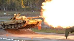 Sức mạnh khủng khiếp của siêu xe tăng T- 90MS Nga