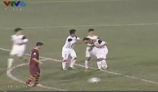 Văn Sơn gỡ hòa 1-1 cho U19 Việt Nam