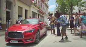Chiếc xe hơi Mỹ đầu tiên đến Cuba sau 58 năm